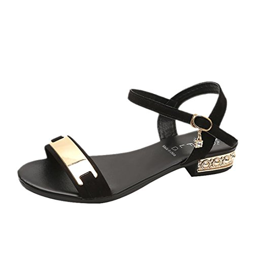 Lolittas Summer Gladiator Wedge Sandals Women, Glitter Sparkly Sequin Wedding Low Heel Platform Peep Toe Slingback Lace up Strappy Wide Fit Shoes Size 2-6 Black