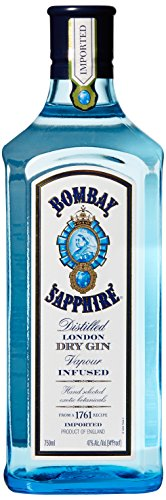 Bombay Sapphire Gin, 750 mL, 94 Proof