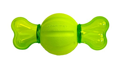 Hyper Pet Dura-Squeaks Bony Ball Dog Toy
