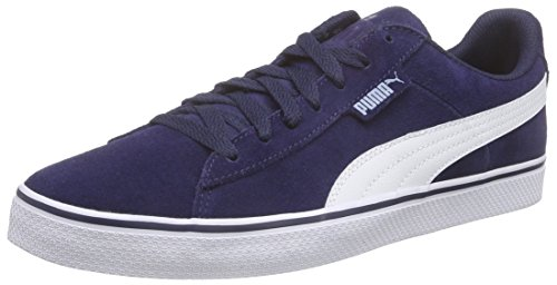 Puma 1948 Vulc, Sneakers Basses Mixte Adulte Bleu (Peacoat/White 02)