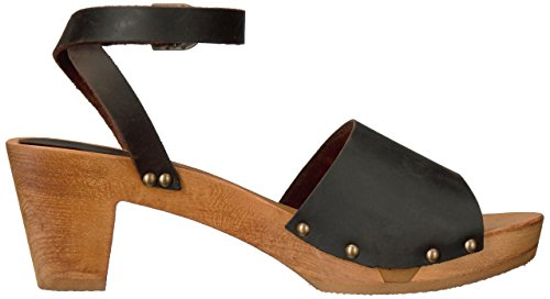 Antique Women's Sandal Square Sanita Platform Flex Yara Brown dYHAwqxOw