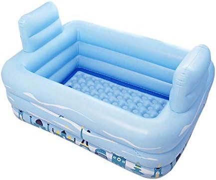 Bathtub Bañera Inflable Plegable portátil Doble, Piscina Infantil ...