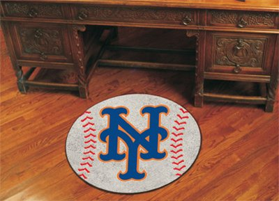Baseball Floor Mat - New York Mets (York Mets New Floor)