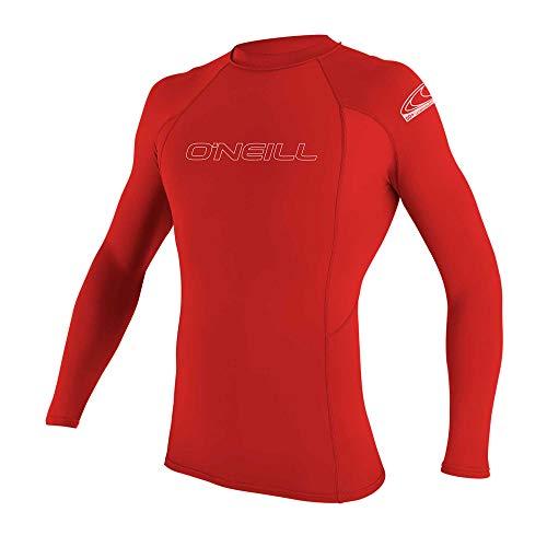 O'Neill Men's Basic Skins UPF 50+ Long Sleeve Rash Guard Now $14.33 (Was $30.95)