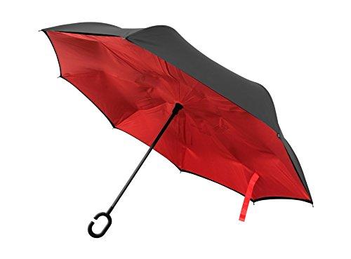 Better Brella C-Shaped Umbrella (Red)