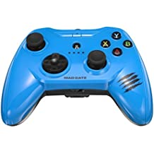 Apple Certified Mad Catz C.T.R.L.i Mobile Gamepad and Game Controller Mfi Made for Apple TV, iPhone, and iPad - Blue