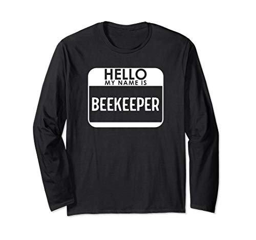 Beekeeper Costume Funny Easy Last Minute Halloween Bee Gift Long Sleeve T-Shirt