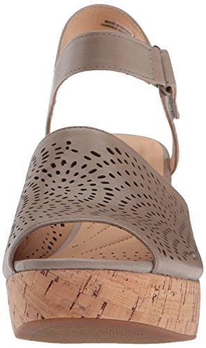 Clarks Kvinders Maritsa Nila Kile Sandal Sand Læder dLaXJ6