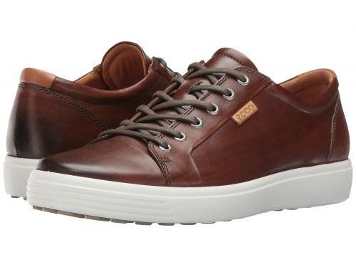 ECCO(エコー) メンズ 男性用 シューズ 靴 スニーカー 運動靴 Soft 7 Premium Tie - Whisky [並行輸入品] B07BLQMRDZ