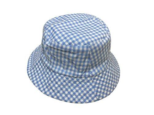 Bleu Fille Enfant 2 Garçon Bonnet Chapeau Toile Pêche Pour En Acvip Bébé Bob Hat Carreaux Casquette Plage Eté Couleurs vUgqzqafxw