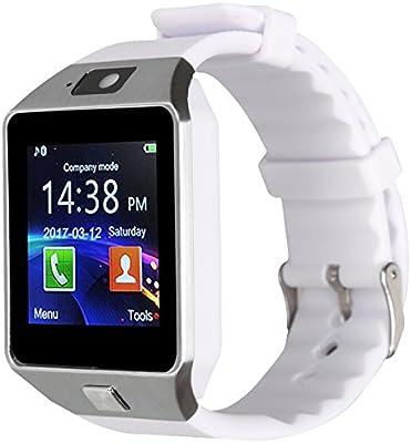 Kivors Bluetooth Reloj Inteligente DZ09, Smartwatch Teléfono ...