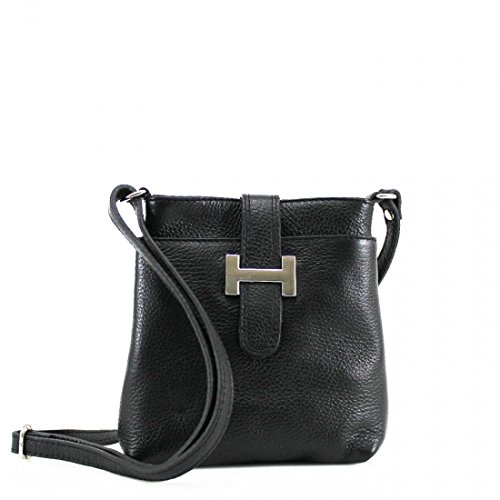 Black Real Bag Cross Colours Leather Available body Vibrant Real Leather T6qOaa