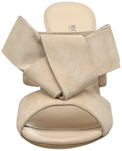 Hugo Bow Mule 10197235 01, Sandalias con Cuña para Mujer Beige (Light Beige 270)