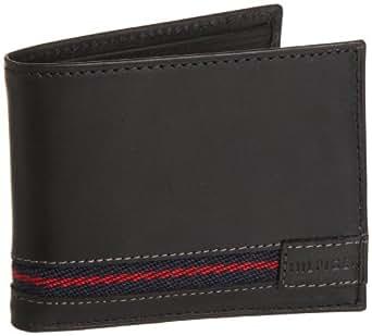 Tommy Hilfiger Men's Clemson Passcase Billfold, Black