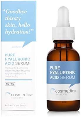 Cosmedica Skincare Hyaluronic Acid Serum, 1 Fl. Oz