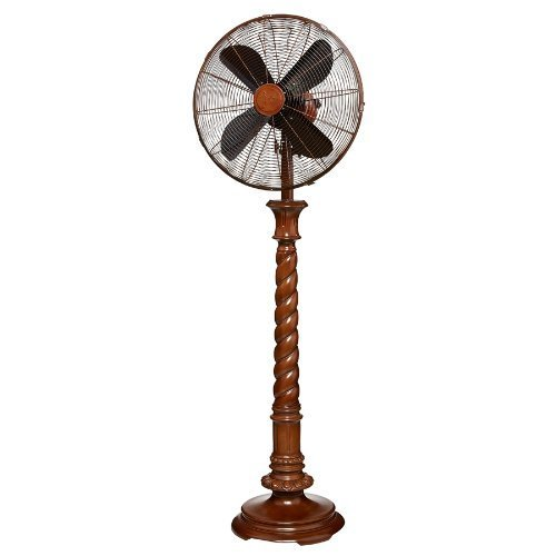 Deco Breeze DBF0426 Raleigh 16-Inch Floor-Standing Fan by Deco Breeze