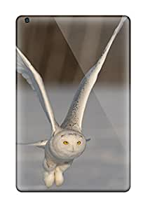 Hot Snap On Case Cover Skin For Ipad Mini(snowy Owl In Flight - Author Unknown)