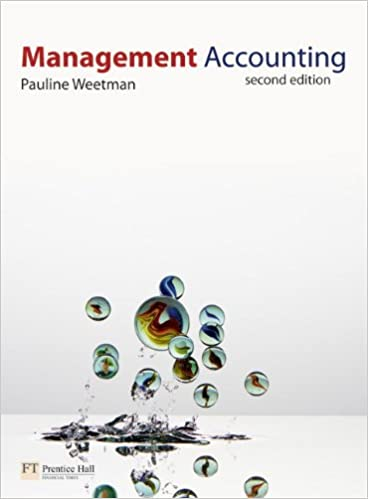Management accounting 2nd edition pauline weetman 9780273718451 management accounting 2nd edition 2nd edition fandeluxe Images