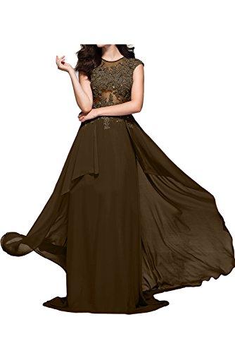 TOSKANA BRAUT - Vestido - trapecio - para mujer marrón