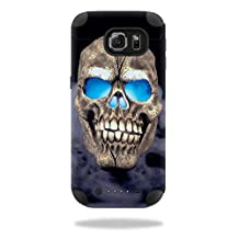 MightySkins Protective Vinyl Skin Decal for Mophie Juice Pack Samsung Galaxy S6 wrap cover sticker skins Psycho Skull