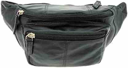 Visconti 720 Leather Waist Pack, Belt Pouch, Fanny Pak, Bumbag