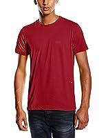 Hugo Boss Green Regular Fit Tee T-Shirt Dark Red