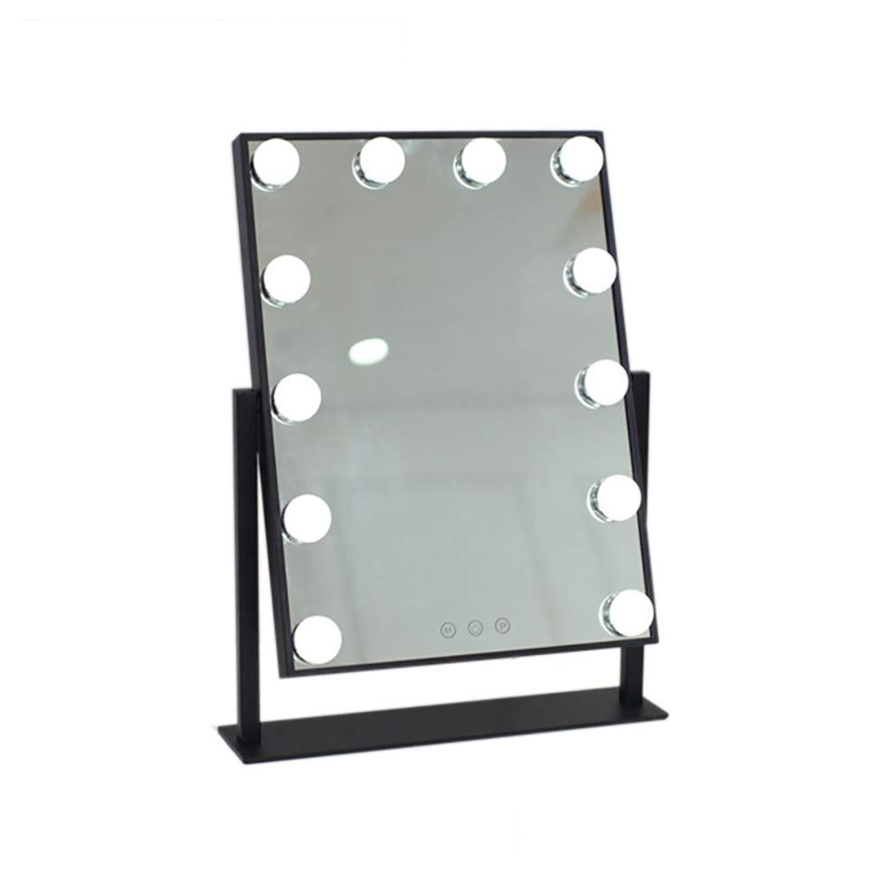 LED Makeup Mirror Large Vanity Mirror with 12 LED Light