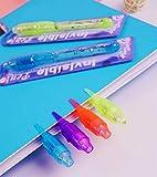 VOVRU Invisible Ink Pen 24Pcs Spy Pen with UV Light
