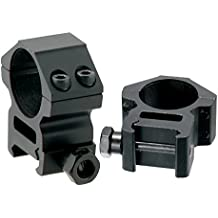 AccuShot Picatinny/Weaver Medium Profile 2-piece 1-inch Rings