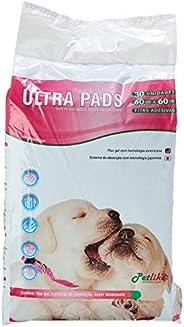 Tapete Higiênico para Cães Ultra Pads 60cmx60cm 30und
