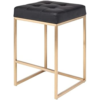 Amazon Com Chi Counter Stool 25 75 Quot In Brushed Gold