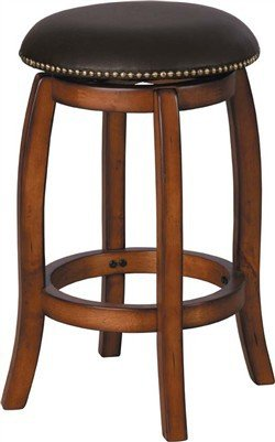 ACME 07249 Chelosea Swivel Bar (Vintage Oak Valet)