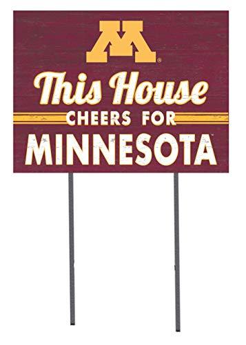 KH Sports Fan 18x24 Lawn Sign Minnesota Golden