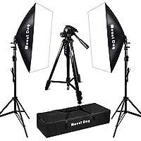 1350W Softbox Photography Lighting Kit Photo Studio, DSLR...