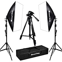 1350W Softbox Photography Lighting Kit Photo Studio, DSLR Camera Folding Tripod Stand, Continuous Light Professional Photography kit One Year Warranty