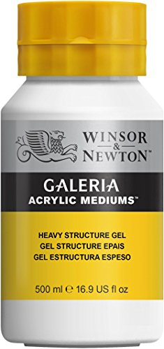 Gel Heavy (Winsor & Newton Galeria Acrylic Medium Heavy Structure Gel, 500ml)