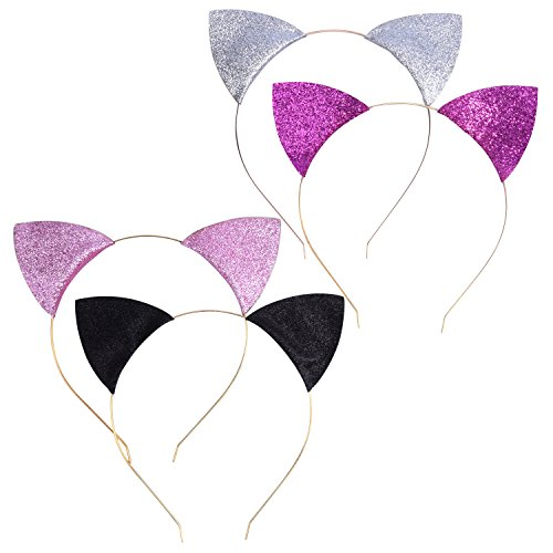 Mudder Glitter Headbands Wearing Decoration