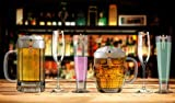 NPW Drinking Buddies Cocktail/Wine Glass
