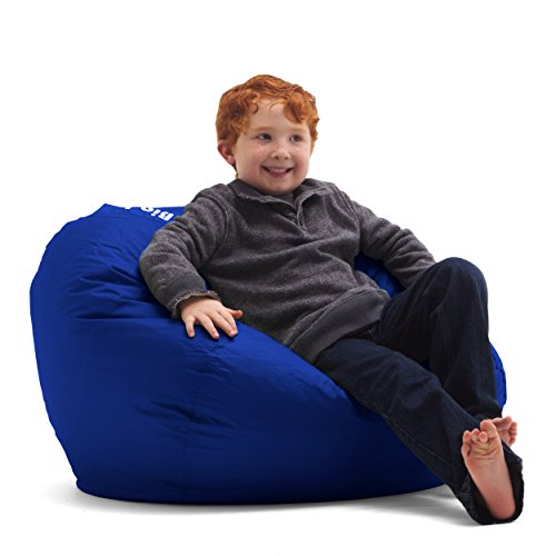 Big Joe Bean Bag, 98-Inch, Sapphire (Bean Chairs Bag Kids)