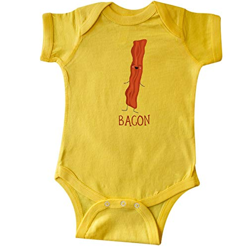 inktastic - Bacon Costume Infant Creeper 6 Months Yellow 31d09 -