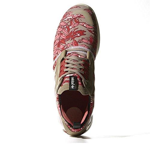 ADIDAS Originals ZX 8000 BOOST B26365 talla UK forma de zapato de tacón Zapatillas para la práctica de 10,5