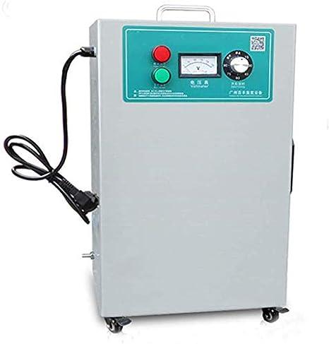 XINJING Generador de ozono Comercial Industrial, esterilizador Desodorante purificador de Aire Industrial 5000Mg / O3, Dos Tipos de temporizadores, Gris Claro: Amazon.es: Hogar