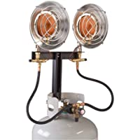 Century 28,000 BTU Double Head Heater