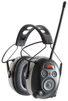 Peltor 90542-3DC Work Tunes Wireless Hearing Protector with Bluetooth Technology, Black