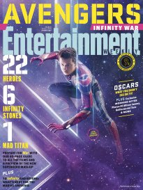 Entertainment Weekly Magazine (March 16 2018) Avengers Infinity War Spider-Man Cover 9 of 15