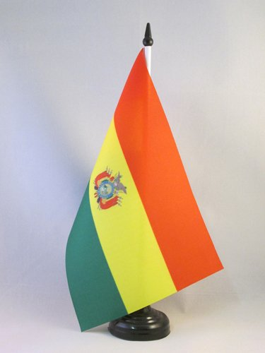 AZ FLAG Bolivia Table Flag 5