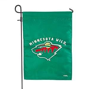 Minnesota wild applique bandera de jard n jard n for Banderas decorativas para jardin