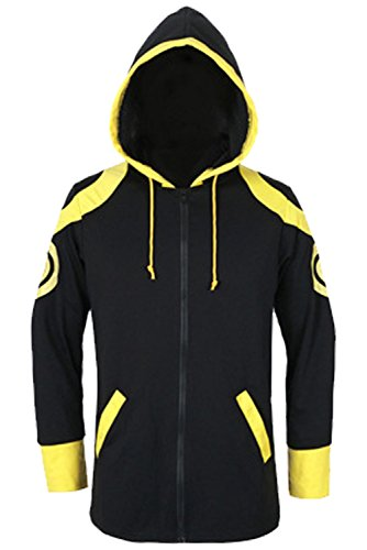 COSTHAT Casual Mystic Messenger 707 Luciel Choi Costume Hoodie Jacket - Messenger Mens
