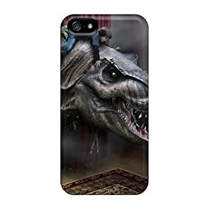 Tanya Diy Anti-scratch And Shatterproof T Rex cell phone case cover For GhzIrn88lbE Iphone 5/5s/ High Quality case cover