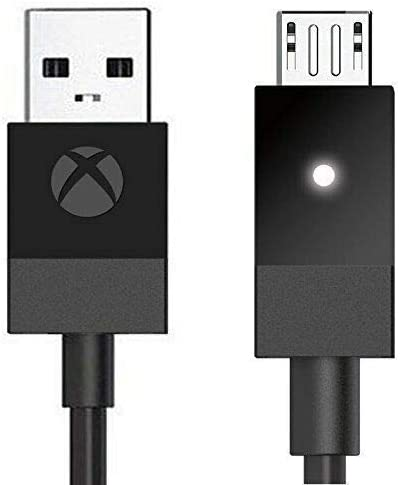 Official Microsoft Xbox One USB Charging Cable (Bulk Packaging)